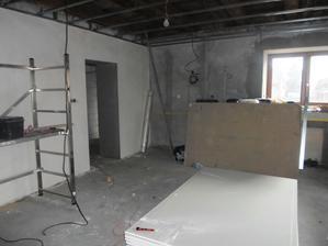 obývací místnost se už pomalu rýsuje :-)