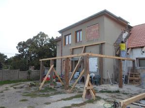 budujeme terasu