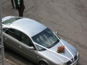 moje svatební autíčko (bohužel jen půjčené)