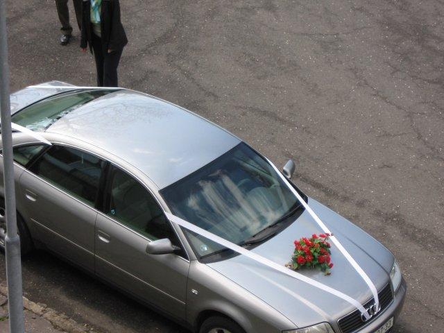Barča{{_AND_}}Honza - moje svatební autíčko (bohužel jen půjčené)