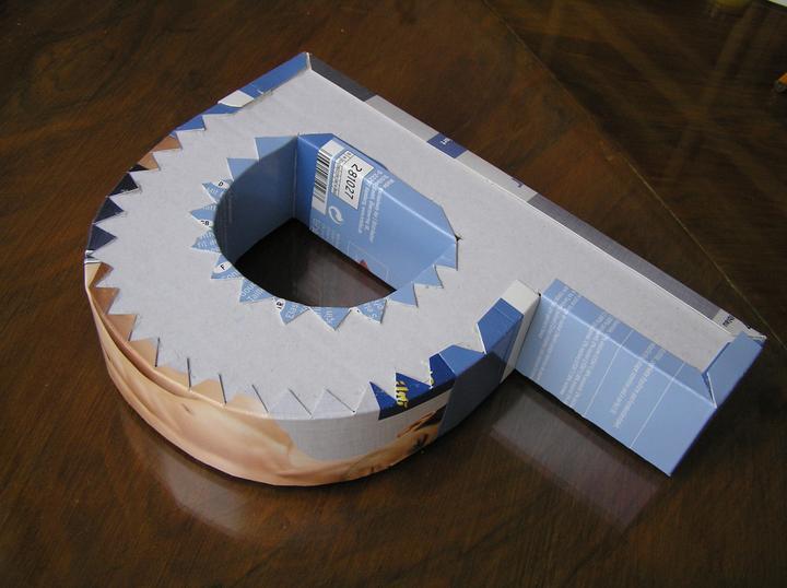 Svatba za babku 1 - 3D písmenko je téměř na světě.