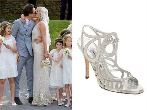 """""""Keby som sa mohla odviazať, moja svadba snov by vyzerala takto..."""" - Úžasné sandálky"""