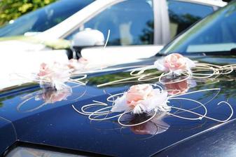výzdoba auta:)