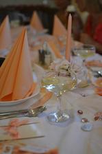 výzdoba stolu:)