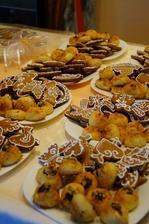 perníčky a koláčky svatební:)