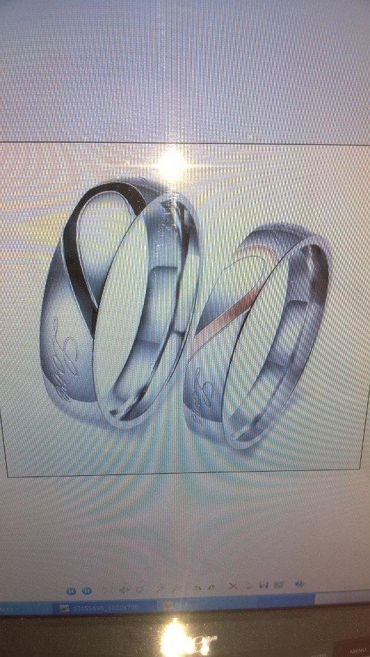 Obnovení manželského slibu - prstýnky na obnovu :)
