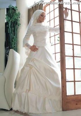 Svetová svadba! - Moderné moslimské nevesty chcú mať moderné svadobné šaty
