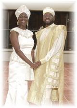 Africké svadobné páry sú ravdepodobne vždy dokonale zladené