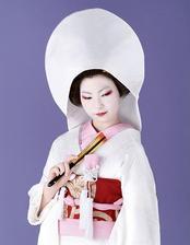 Tradičná japonská nevesta