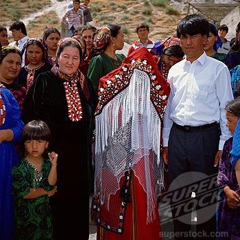 Svetová svadba! - Turkmenistan