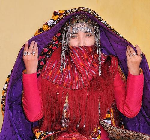 Svetová svadba! - Turkmenska nevesta