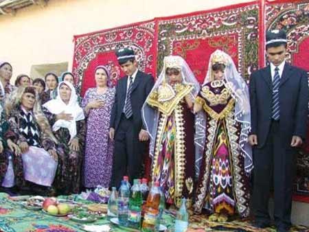 Svetová svadba! - Uzbekistan