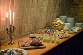 Pečínkové svatební menu, večer raut včetně nápojů,,