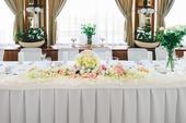 dekorácia na hlavný stôl,