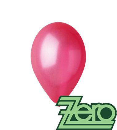 Balónky nafukovací Ø 26 metalově červené 100 ks - Obrázek č. 1