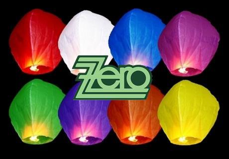 Lampión štěstí mix barev - Obrázek č. 1
