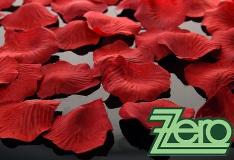 Plátky růží 100 ks - bordó - Obrázek č. 1