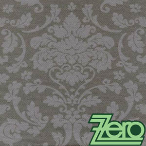 "Ubrousky 40x40 cm ""AIRLAID"" 50 ks - šedé ornamenty - Obrázek č. 1"