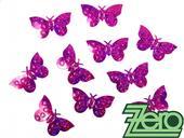 Konfety motýlci - tmavě růžová,