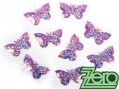 Konfety motýlci - světle fialová,