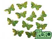 Konfety motýlci - zelená,