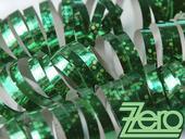 Serpentýny holografické 18 ks x 4 m - zelené,