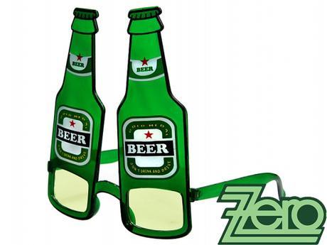 """Brýle párty """"pivo"""" - zelené - Obrázek č. 2"""