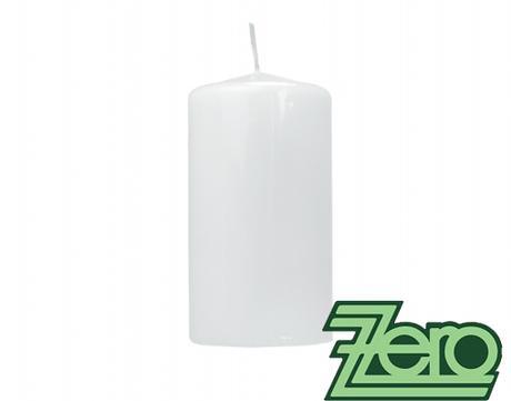 Svíčka válec pr. 5,8 cm, výška 9 cm - bílá (lak) - Obrázek č. 1