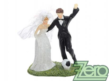 "Figurka na dort ""fotbal"" - Obrázek č. 1"