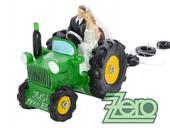 "Figurka na dort ""novomanželé v traktoru"","