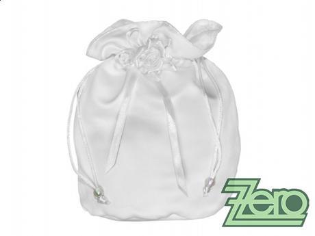 Pytlíček (pomapadourka) pro nevěstu - bílý - Obrázek č. 1