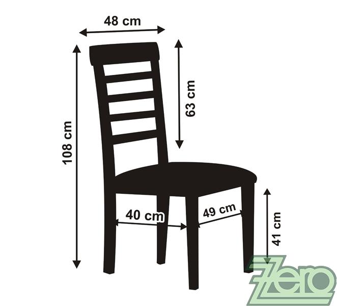 """Potah na židli univerzální """"satén"""" - bílý   - Obrázek č. 3"""