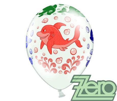 Balónky nafukovací Ø 36 cm (5 ks) - delfíni - Obrázek č. 4