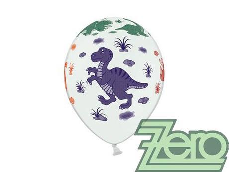 Balónky nafukovací Ø 36 cm (5 ks) - dinosauři - Obrázek č. 1