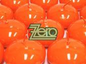 Svíčky plovoucí 10 ks, pr. 4,5 cm - oranžová,