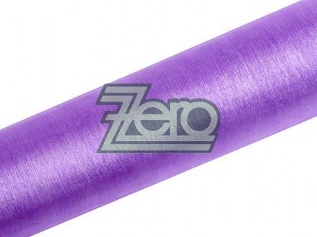Organza 16 cm x 9 m - sv. fialová - Obrázek č. 1