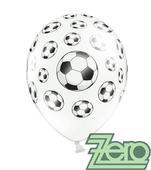 Balónky nafukovací Ø 36 cm (5 ks) - fotbal,