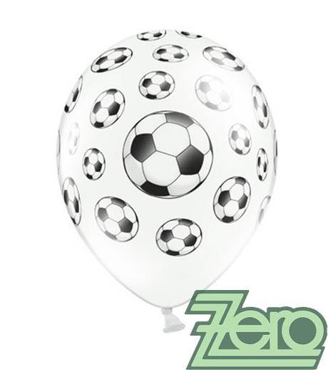 Balónky nafukovací Ø 36 cm (5 ks) - fotbal - Obrázek č. 1