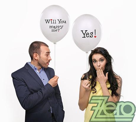 Balónky nafukovací Ø 36 cm (5 ks) - Will You - Obrázek č. 1