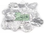 Plátky růží 100 ks - stříbrné,