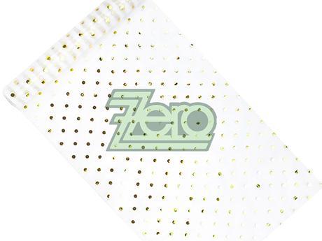 Organza 36cm x 9m - bílá se zlato-stříbrným tiskem - Obrázek č. 1