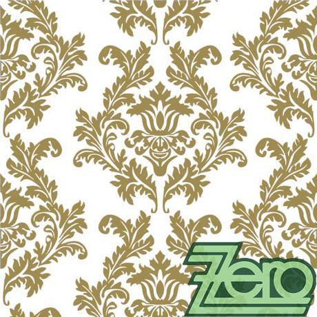Ubrousky papírové s tiskem 20 ks - zlaté ornamenty - Obrázek č. 1