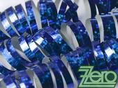 Serpentýny holografické 18 ks x 4 m - modrá,