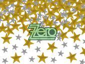 Konfety kovové - zlaté a stříbrné hvězdičky,