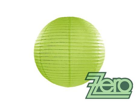 Lampión závěsný papírový pr. 25 cm - zelené jablko - Obrázek č. 1