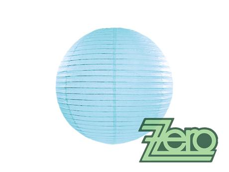 Lampión závěsný papírový pr. 25 cm - modrá - Obrázek č. 1