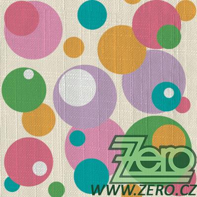 Ubrousky papírové s potiskem 20 ks - bubliny - Obrázek č. 1