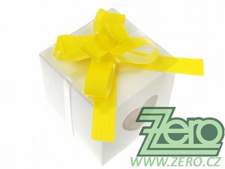 Mašle stahovací 1 cm (50 ks) - žlutá - Obrázek č. 1