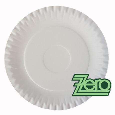 Tácek na svatební koláče Ø 23 cm - bílý - Obrázek č. 1