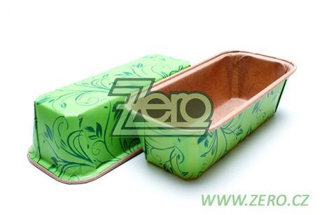 Forma papírová samonosná na pečení 5 ks - zelená - Obrázek č. 1